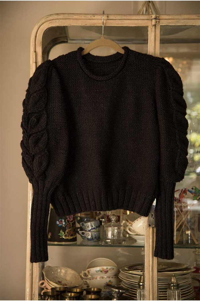 Dolores Black Sweater