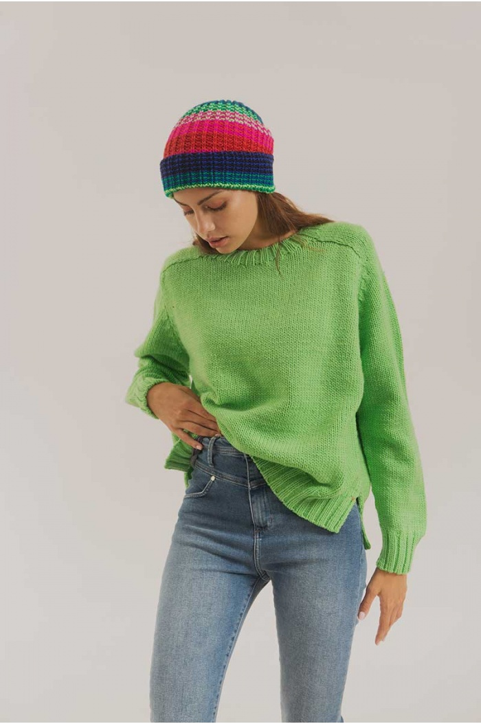Sweater Paradox Merino 100% in Green