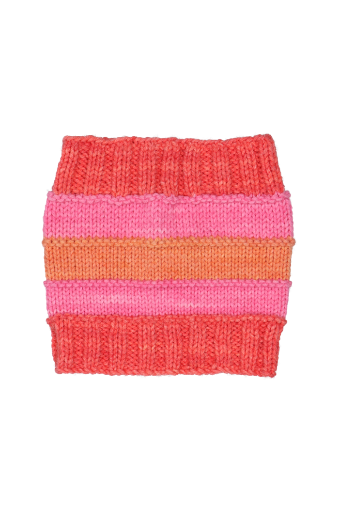 Bellota Orange & Fuchsia Snood Kids