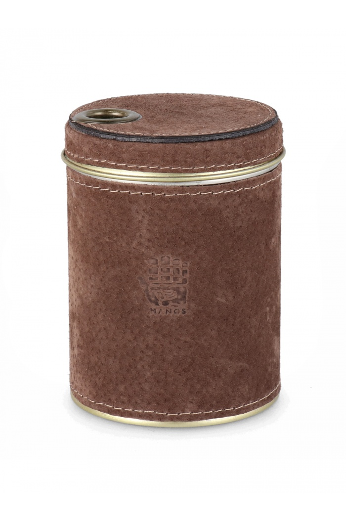 Dark Brown Yerba Container