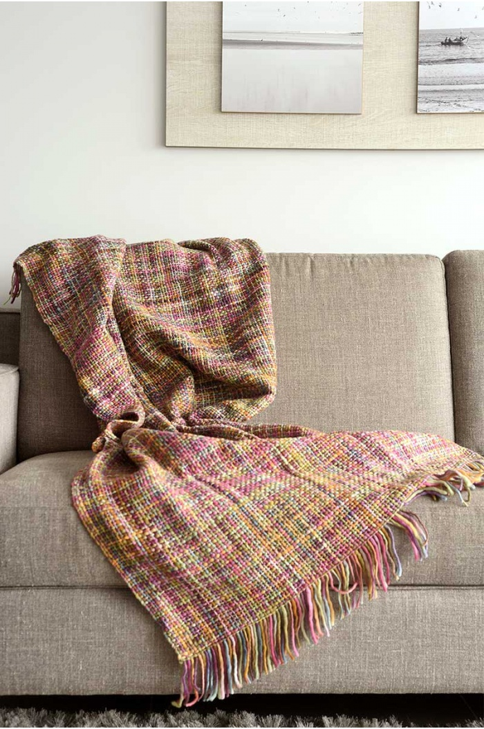 Iberica Multicolor Throw