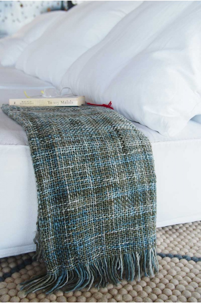 Ibérica Green Throw