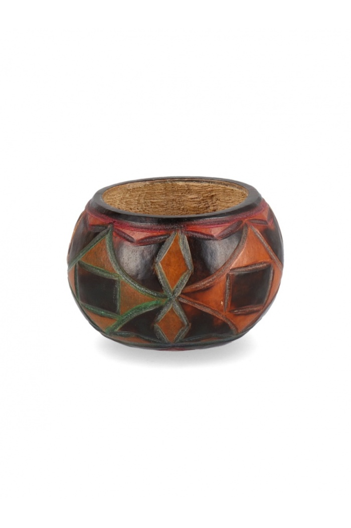Multicolor Carved Mate