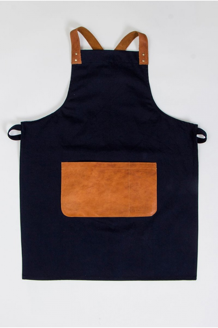 Jean Olmo Apron in Blue for men