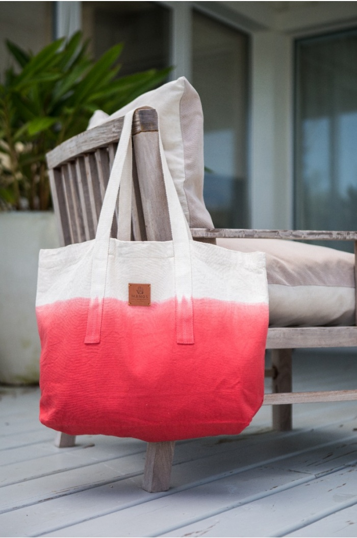 Gradient Red Tote