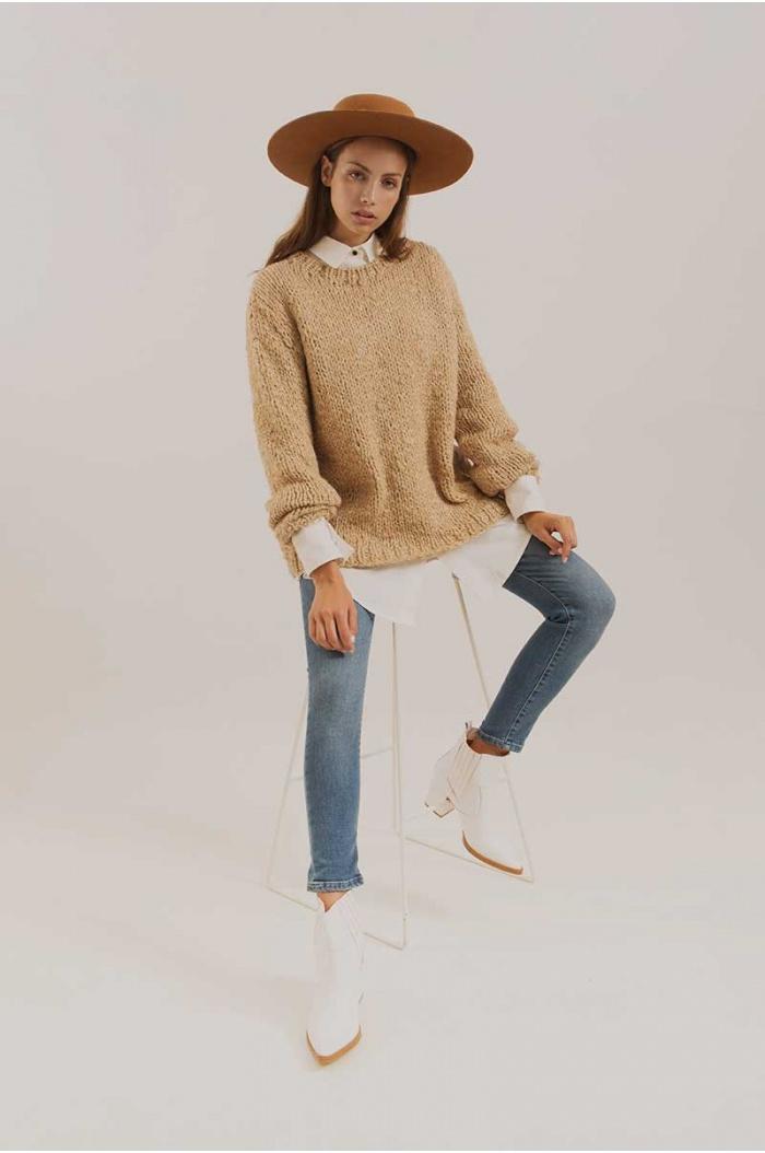 Sweater Camello