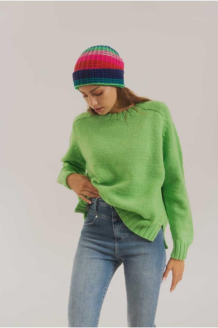 Hat Ted Mex Multicolor 100% Merino