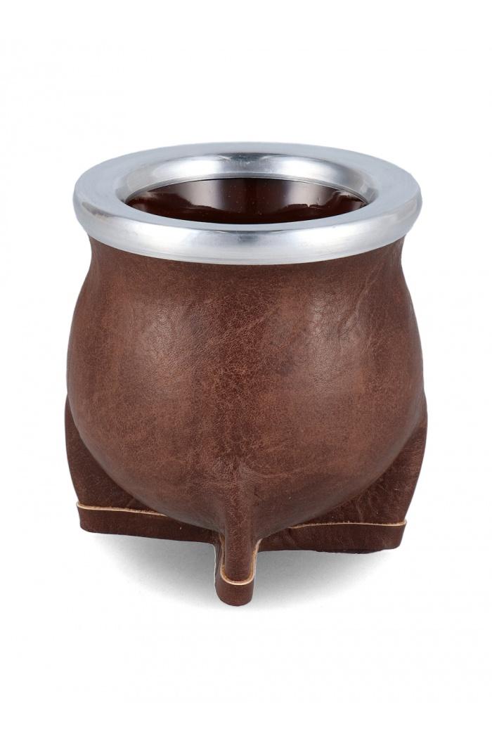 Cracked Brown Ceramic Mate