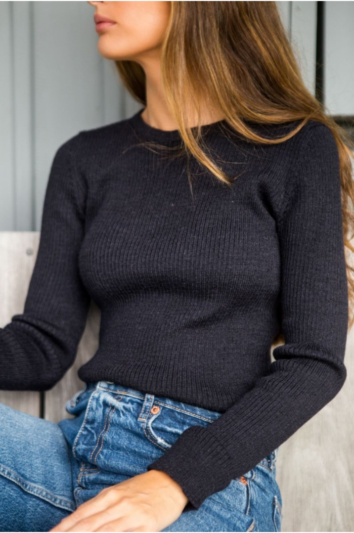 Sweater Canale in Black
