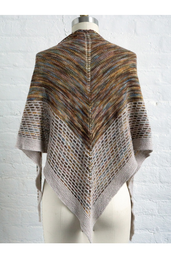 Linden Shawl by Lisa R. Myers