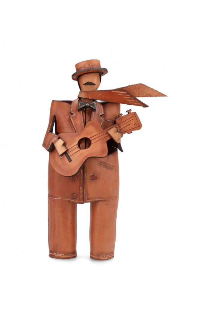 Leather Musician: Guitar