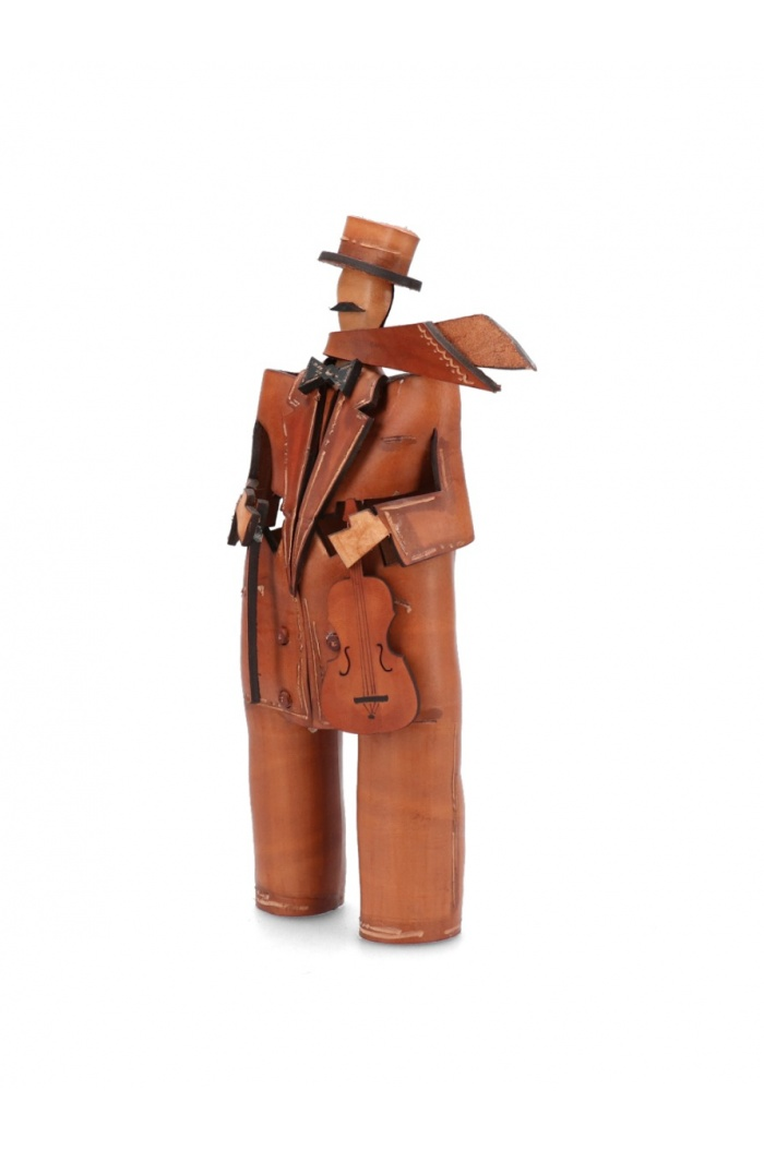 Leather Musician: Violin