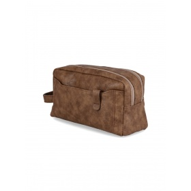 Faux Leather Necessaire