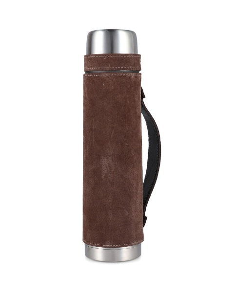 Brown Leather Flask