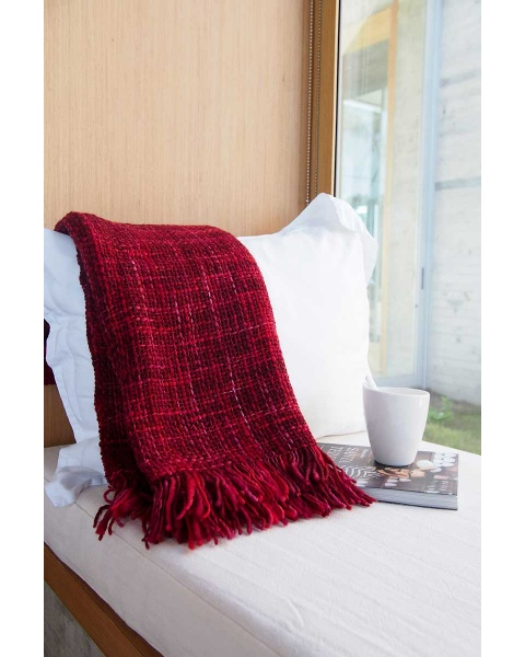 Iberica Red Throw