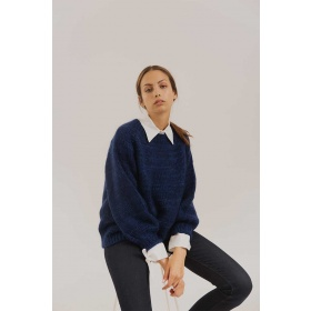 Sweater Mohair Frida Blue