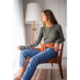 Sweater Canale in Green
