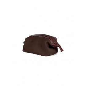 Brown Leather Necessaire