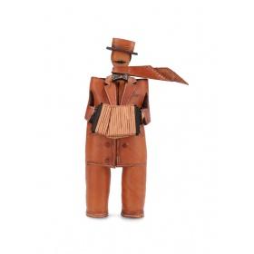 Leather Musician: Accordion
